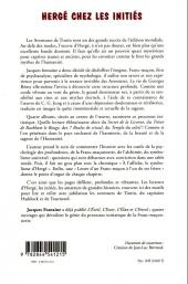 Verso de (AUT) Hergé -73- Hergé chez les initiés