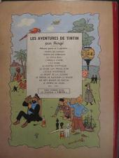 Verso de Tintin (Historique) -11B03- Le Secret de la Licorne
