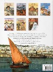 Verso de Carnets d'Orient -2c- L'année de feu