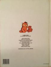 Verso de Garfield -10- Tiens bon la rampe !