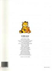 Verso de Garfield -18- Dort sur ses deux oreilles