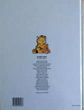 Verso de Garfield -20- Garfield ne se mouille pas