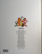 Verso de Garfield -25- Garfield est sur la mauvaise pente