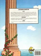 Verso de Alix -11b1986- Le prince du Nil