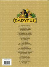 Verso de Papyrus -31- L'or de Pharaon