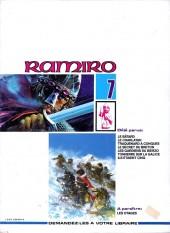 Verso de Ramiro -7- Ils étaient cinq : le Trésor des Wisigoths 1