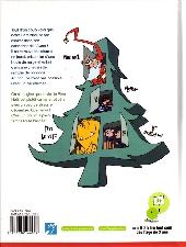 Verso de Le petit monde de Père Noël -3- Le calendrier infernal