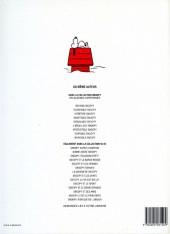 Verso de Peanuts -6- (Snoopy - Dargaud) -9- Invincible Snoopy