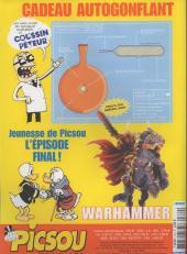 Verso de Picsou Magazine -374- Picsou Magazine N°374