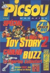 Verso de Picsou Magazine -346- Picsou Magazine N°346
