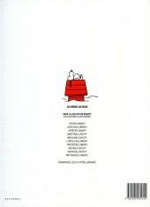 Verso de Peanuts -6- (Snoopy - Dargaud) -10- Inattaquable Snoopy