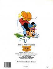 Verso de Walt Disney (Sélection BD) -6- Les enquêtes de Mickey