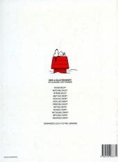 Verso de Peanuts -6- (Snoopy - Dargaud) -12- Inénarrable Snoopy