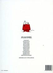 Verso de Peanuts -6- (Snoopy - Dargaud) -13- Elémentaire mon cher Snoopy