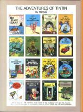 Verso de Tintin (The Adventures of) -13a- The Seven Crystal Balls