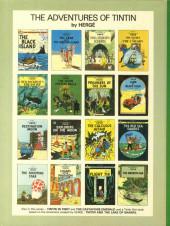 Verso de Tintin (The Adventures of) -18- The Calculus Affair