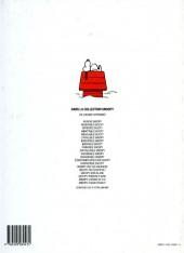 Verso de Peanuts -6- (Snoopy - Dargaud) -20- Chaud devant