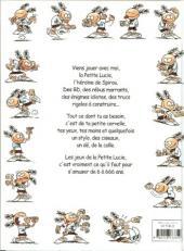 Verso de La petite Lucie -J1- Jeux, gags, bricolages
