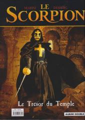 Verso de Le scorpion -INTFL3- La vallée sacrée / Le trésor du temple