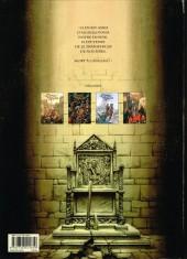 Verso de Le trône d'Argile -4- La mort des rois