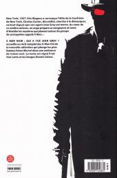Verso de X-Men Noir -1- Qui a tué Jean Grey?