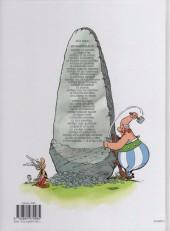Verso de Astérix -30a2009- La galère d'Obélix