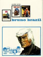Verso de Bruno Brazil -4a- La cité pétrifiée
