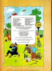 Verso de Tintin (Historique) -14B39- Le temple du soleil