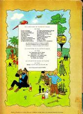 Verso de Tintin (Historique) -8B35- Le sceptre d'Ottokar