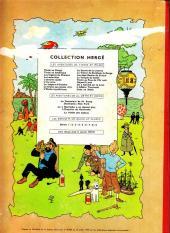 Verso de Tintin (Historique) -7B27Bis- L'île noire