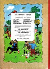 Verso de Tintin (Historique) -4B15- Les cigares du pharaon