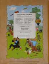 Verso de Tintin (Historique) -19B25- Coke en stock