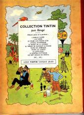 Verso de Tintin (Historique) -10B02- L'étoile mystérieuse