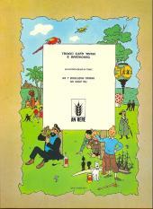Verso de Tintin (en langues régionales) -7Breton- An enez du