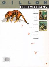 Verso de Les léviathans -2- La dent de l'alligator
