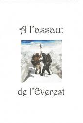 Verso de Fawcett, le naufragé de la forêt vierge -TT- Fawcett, le naufragé de la forêt vierge + À l'assaut de l'Everest
