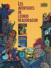 Verso de Léonid Beaudragon -2- La nuit des totems