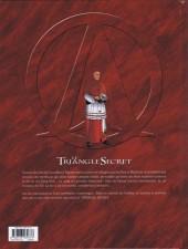 Verso de Le triangle secret - Les Gardiens du Sang -2- Deir el Médineh