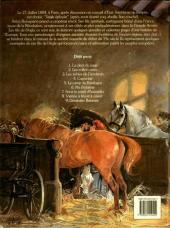 Verso de Les fils de l'aigle -9- Destinées Bataves