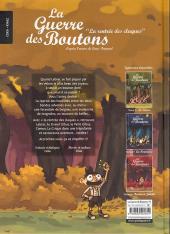 Verso de La guerre des Boutons (Vernay/Khaz) -4- La rentrée des claques