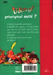 Verso de Titeuf (Bibliothèque Rose) -51175- Pourquoi moi ?