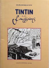 Verso de Tintin - Divers -Cat- Tintin et les faussaires - Les Mésaventures de Tintin