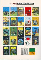 Verso de Tintin (en chinois) -20a- Tintin au Tibet