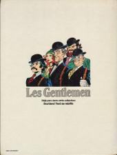 Verso de Les gentlemen -2- Le dada de ces messieurs