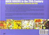 Verso de Buck Rogers in the 25th century -1- Volume 1: The complete newspaper dailies (1929-1930)