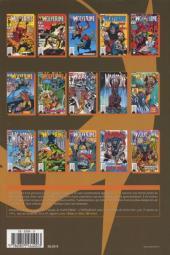 Verso de Wolverine (l'intégrale) -4- Wolverine : l'intégrale 1991