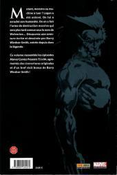 Verso de Best of Marvel -16- Wolverine : Arme X
