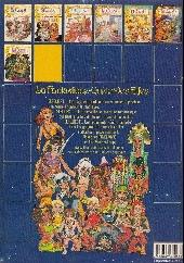 Verso de ElfQuest - La Fantastique quête des elfes -7- Prisonniers des trolls