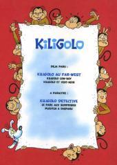 Verso de Kiligolo -3- Kiligolo au Far-West
