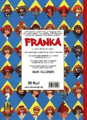 Verso de Franka (BD Must) -14TT01- Le Vaisseau d'or portugais